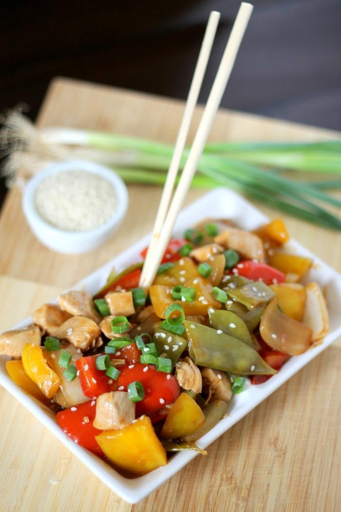 Spicy Chicken Stir Fry recipe