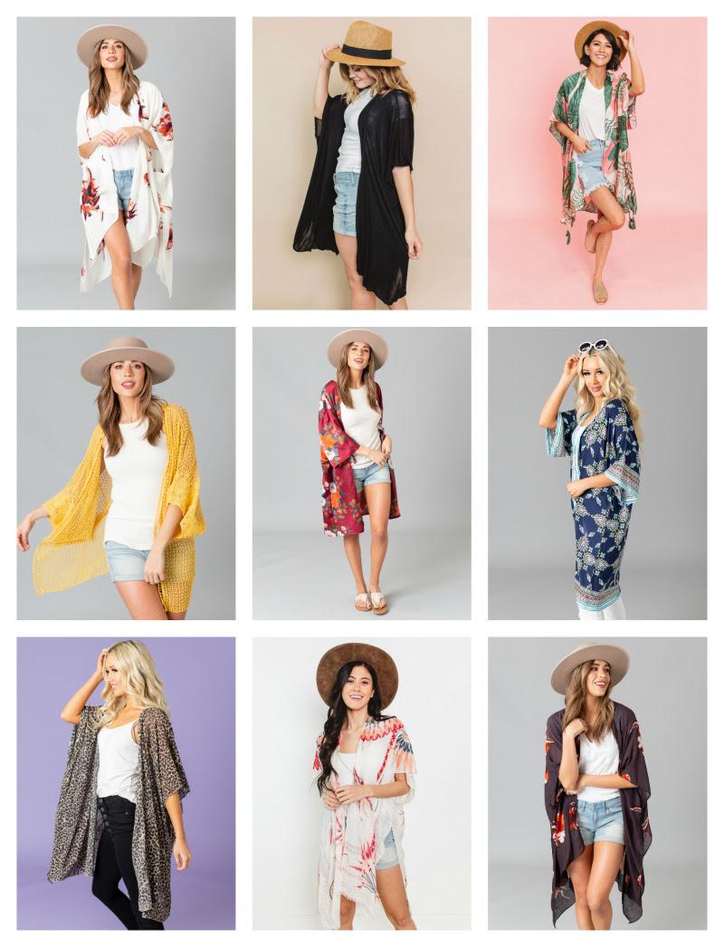 Favorite Kimonos and ways to wear them