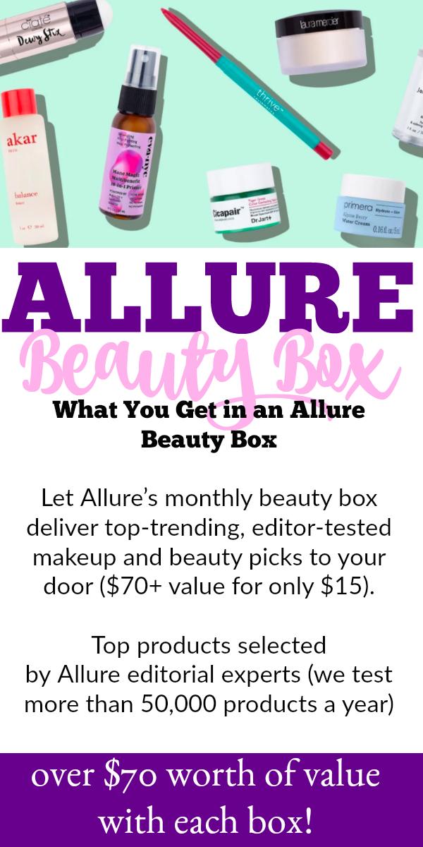Allure Beauty Box April