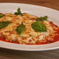 Chicken Parmigiana as Served on Carnival Cruise Line