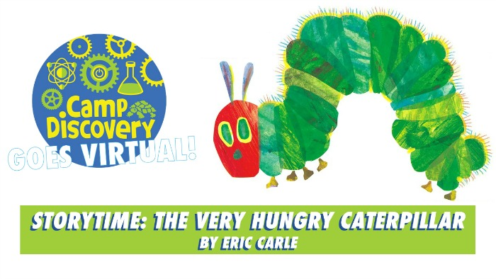 Hungry Caterpillar Virtual Storytime and Craft Activity