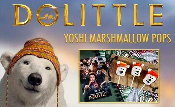 Yoshi Marshmallow Pops