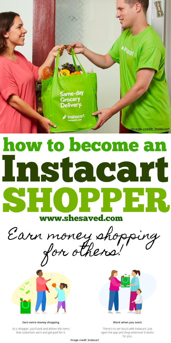 Find out how to become an instacart shopper and help others while making money at the same time!