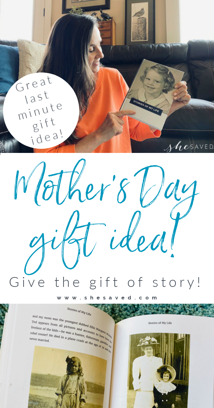 Storyworth book is the best mother's day gift idea