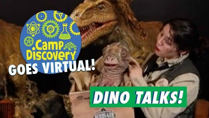 dino talks Virtual Dinosaur Learning Video