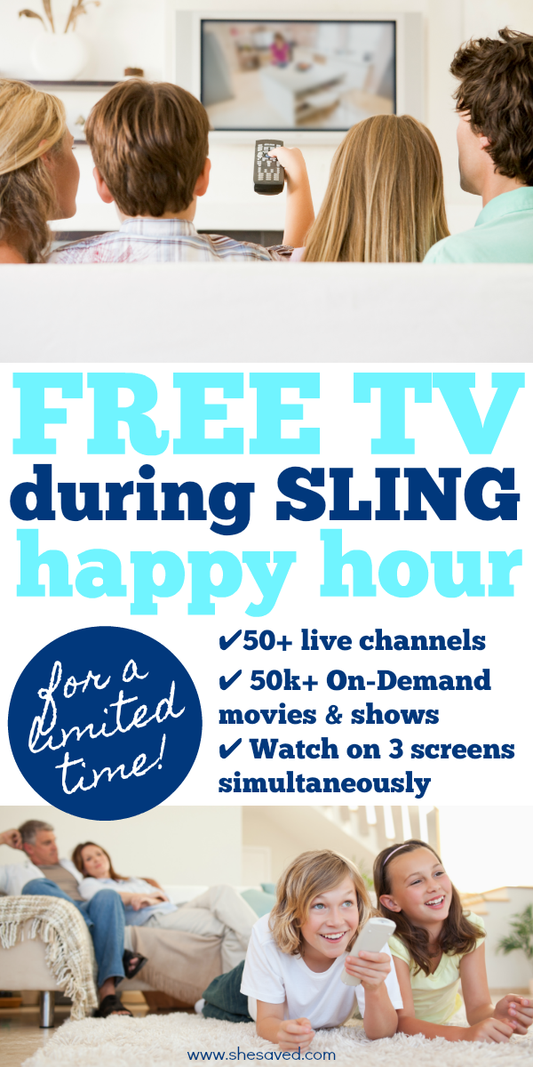 how to get free sling tv and access your favorite movies and episodes!