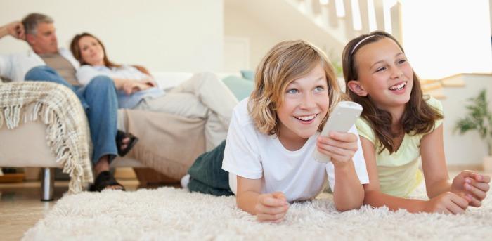kids watching sling tv