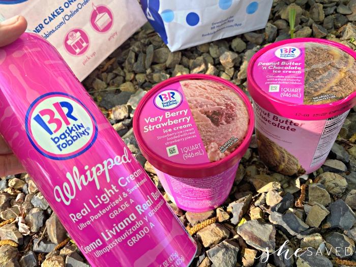 Baskin Robbins Whipped Cream
