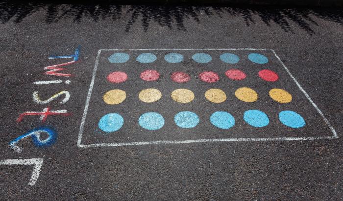 Chalk Twister Board