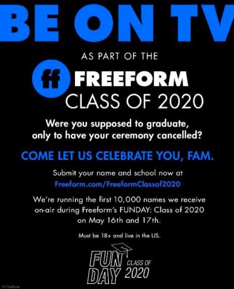 Freeform Fun Day 2020