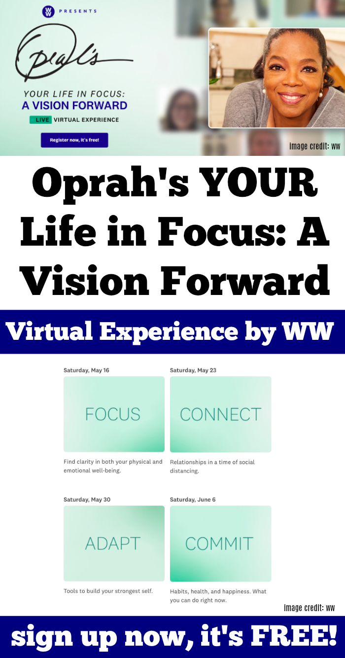 OPRAHS Your Life In Focus FREE Virtual Classes