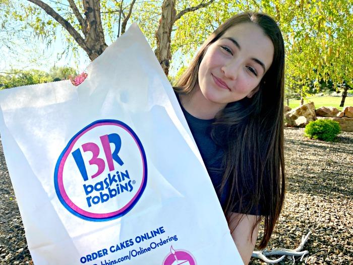 pick up at Baskin Robbins