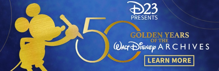 50 Years of the Disney Archives by D23