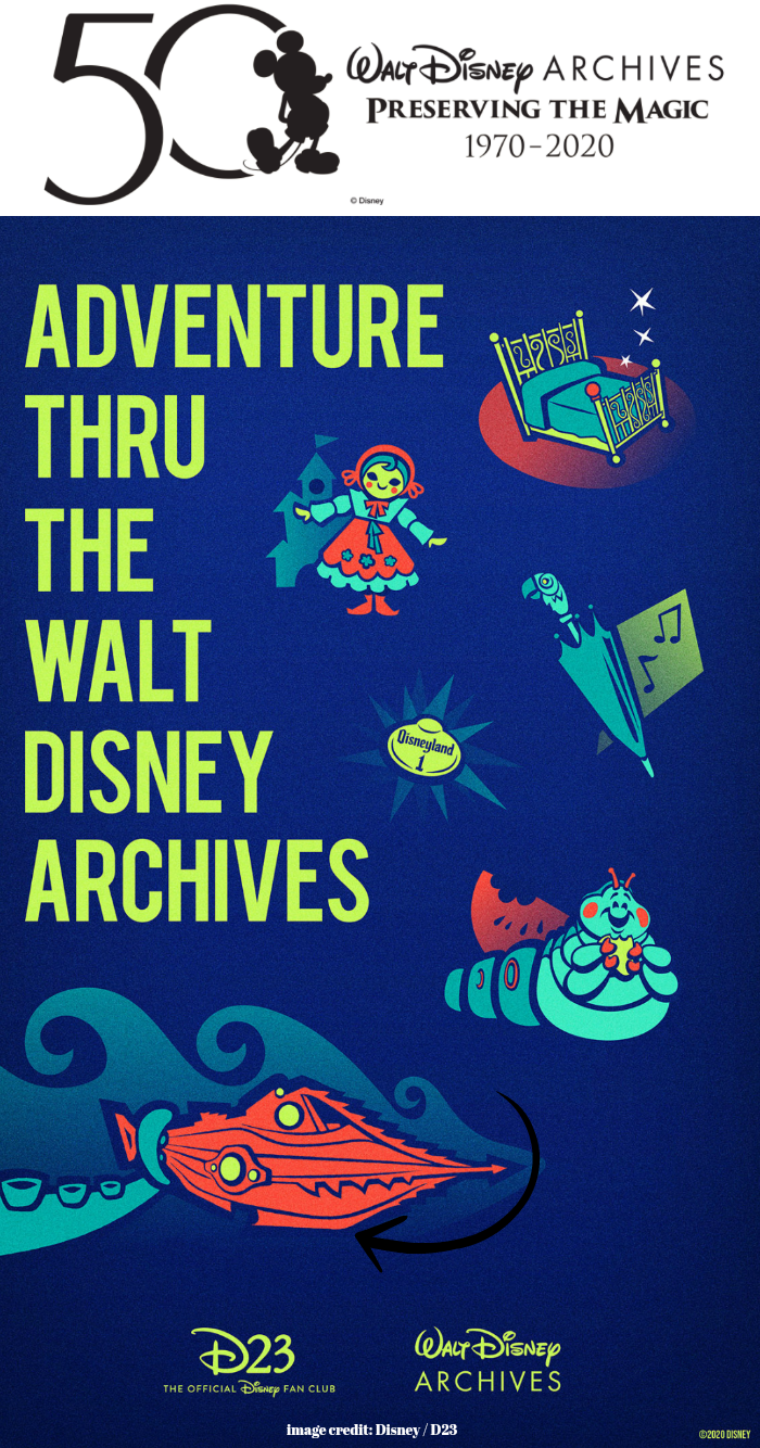 Disney Archives Preserving the Magic