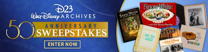disney archives sweepstakes