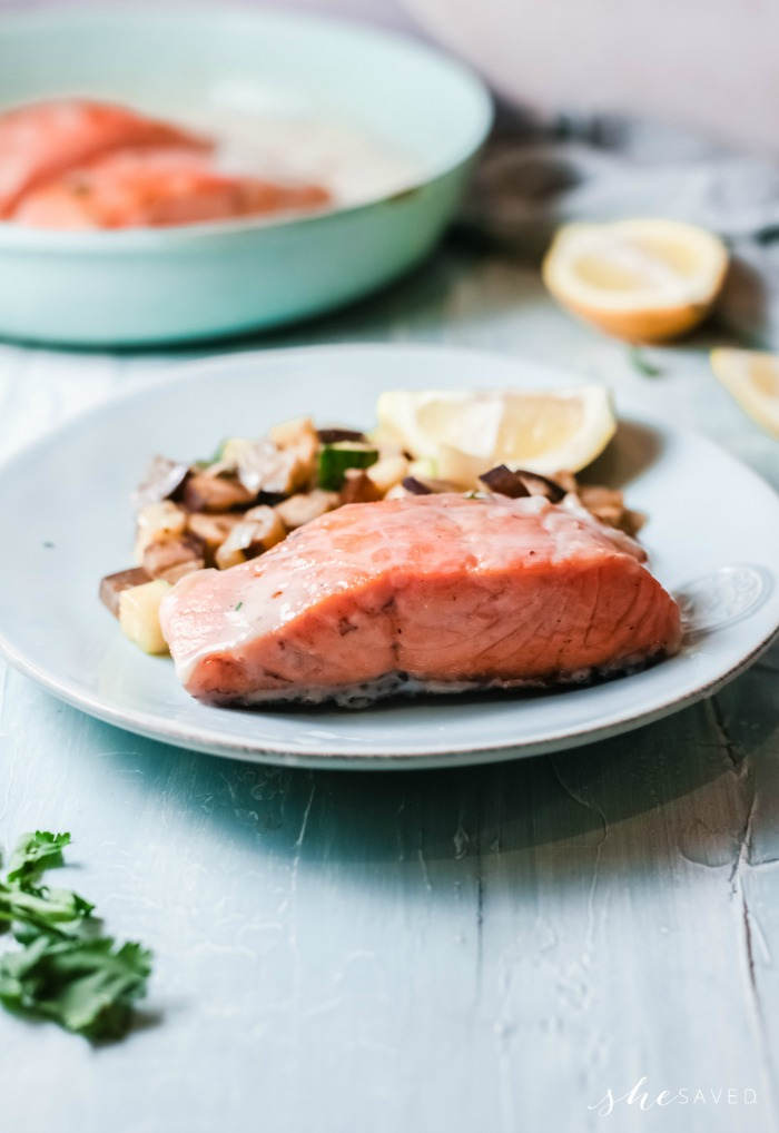 how to pan cook salmon