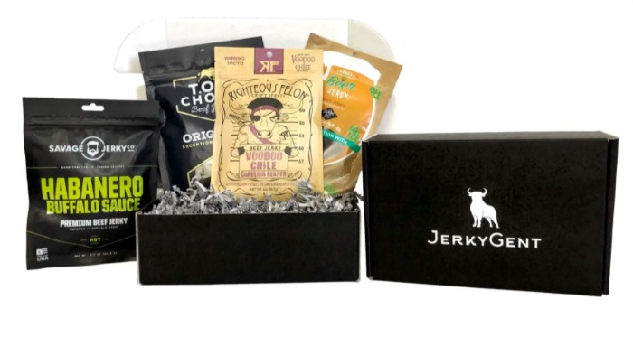 JerkyGent a jerky box for men