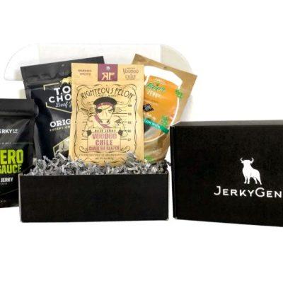 jerkygent jerky in a box