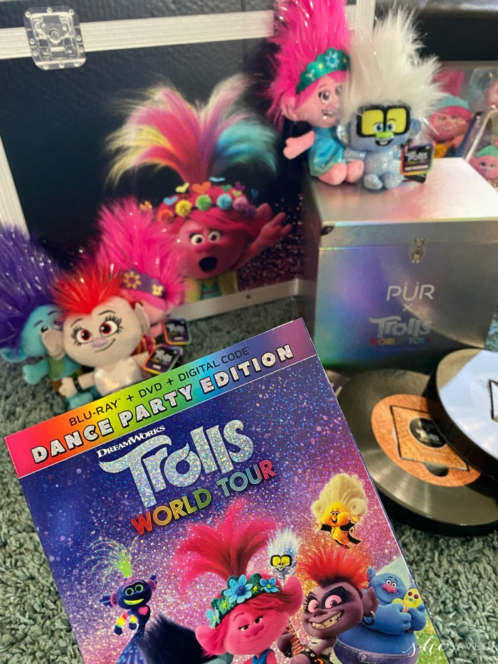 Trolls World Tour Blu-ray Dance Party Edition