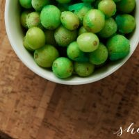 Jello Frozen Grapes