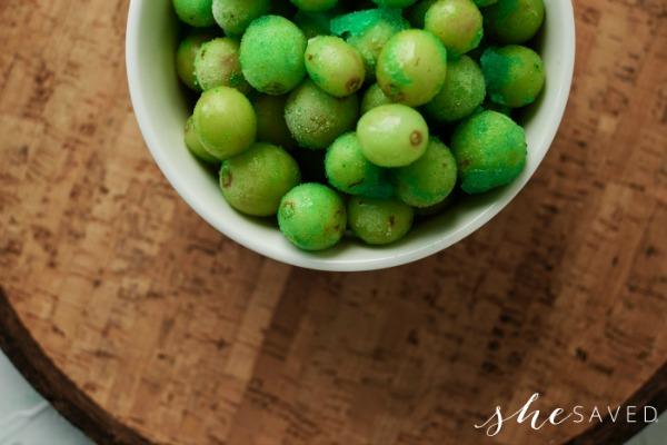 make frozen grapes