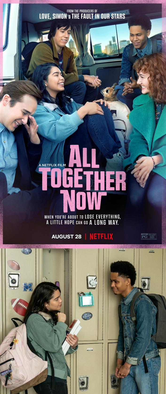 All Together Now on Netflix starting Auli'i Cravalho