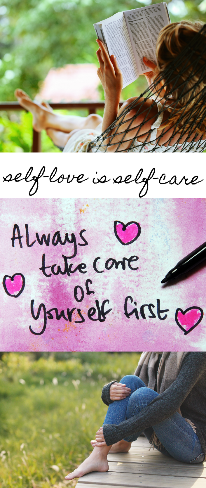 Take care of yourself because self love is self care