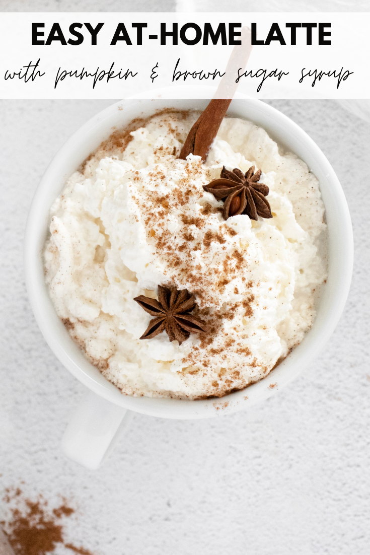 Easy at Home Latte Recipe