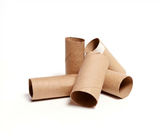 Empty Toilet Paper Tubes for Costumes