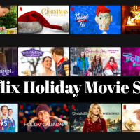 Netflix Holiday Movie Slate Calendar for 2020
