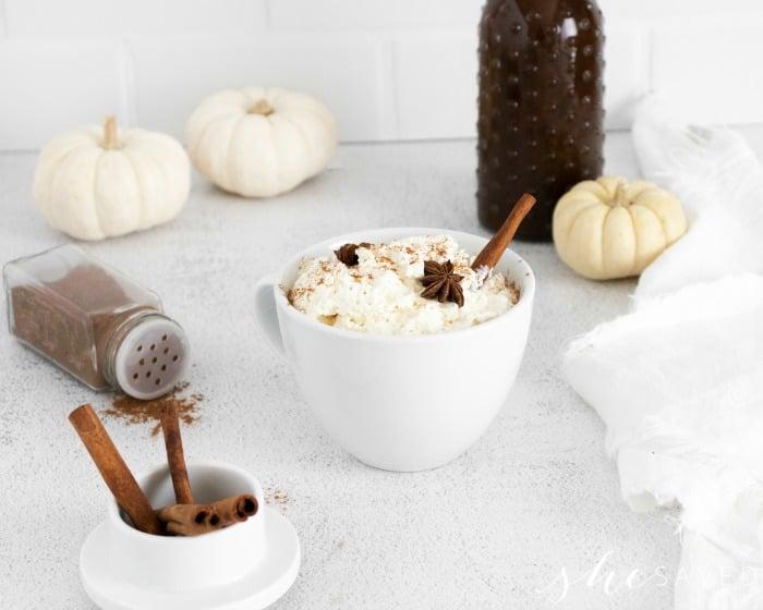 Pumpkin Brown Sugar Syrup for Latte Recipe