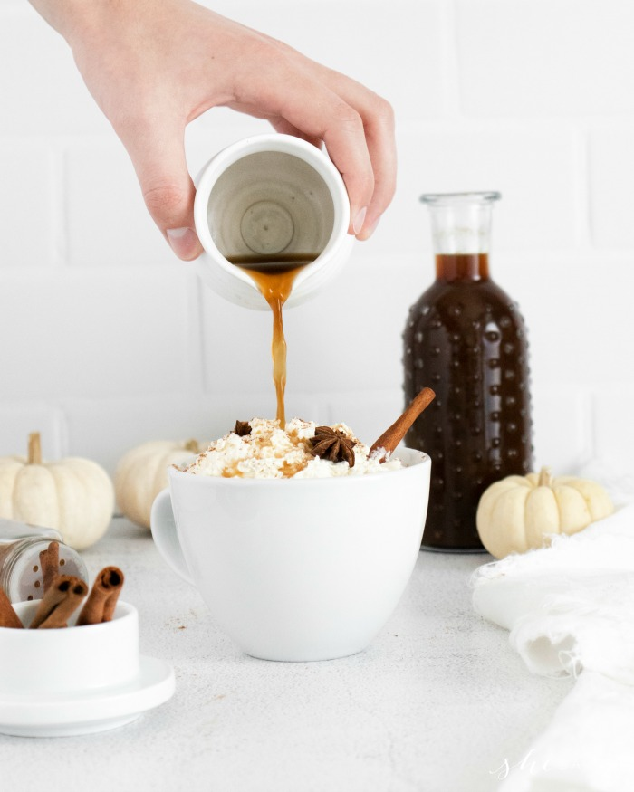 Best Fall Drink Pumpkin Spice Syrup on Coffee Recipe