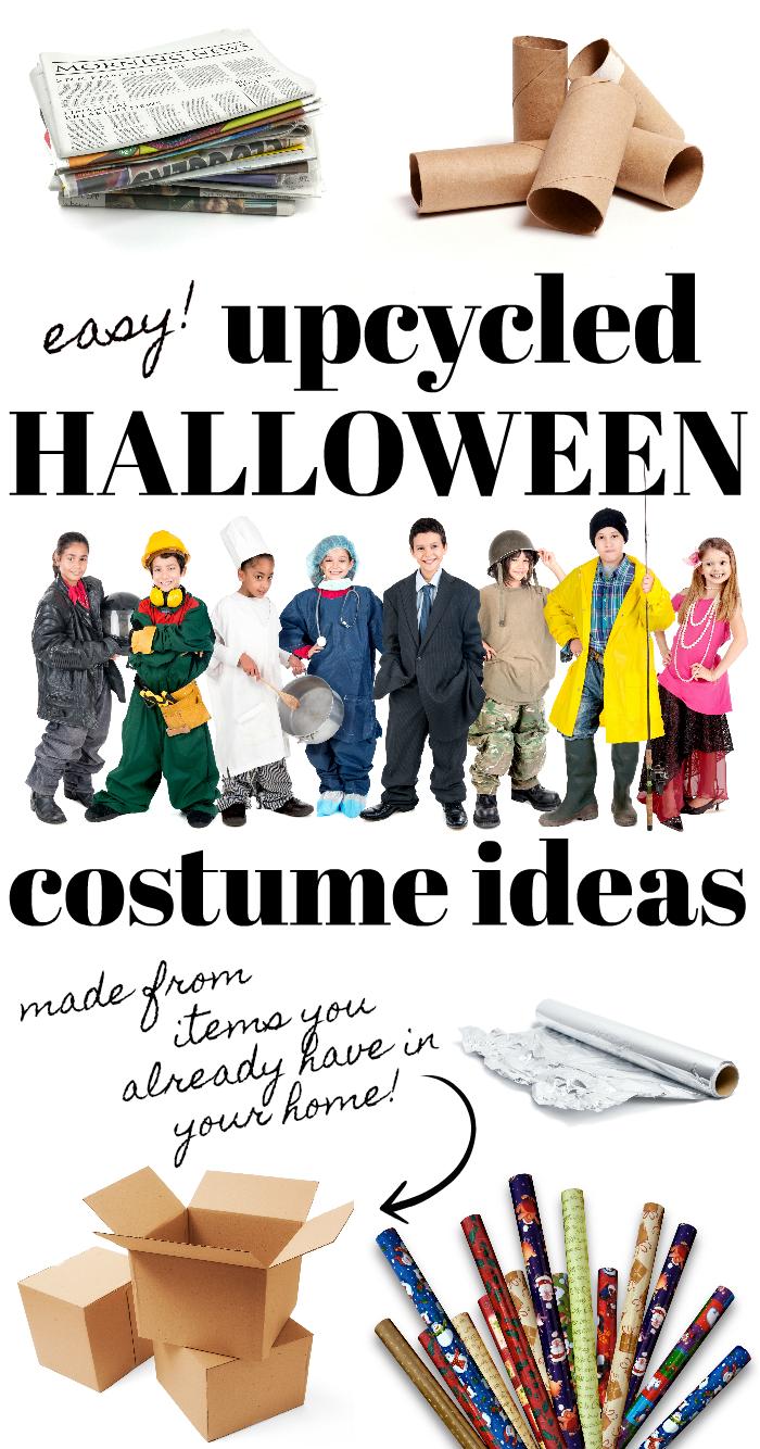 Upcycled Halloween Costume Ideas