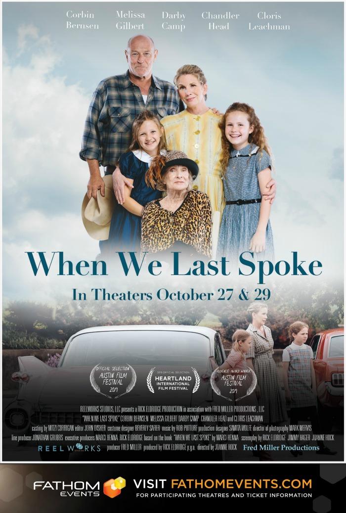 When We Last Spoke Movie Poster