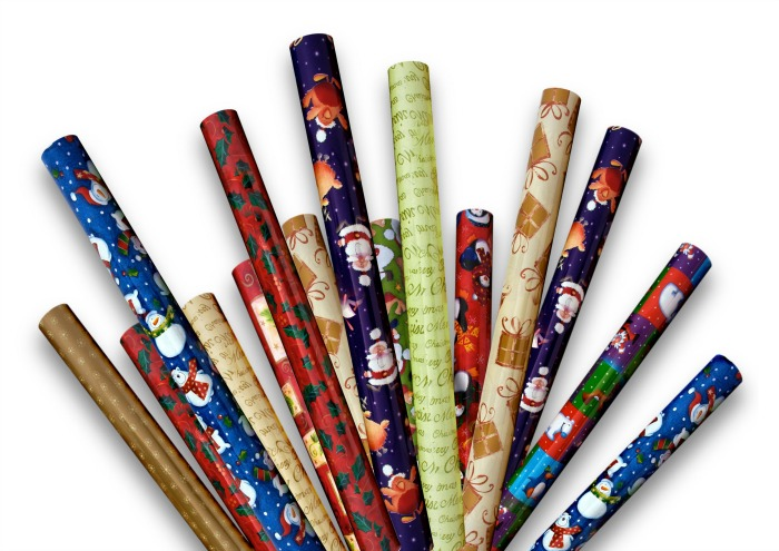 Wrapping Paper Cardboard Tubes for swords