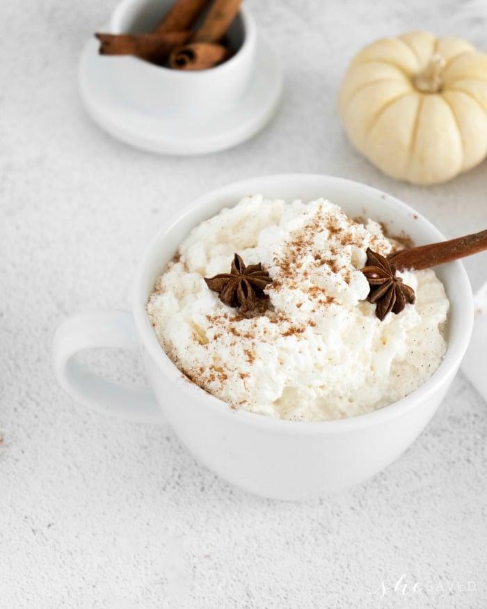 homemade pumpkin latte recipe
