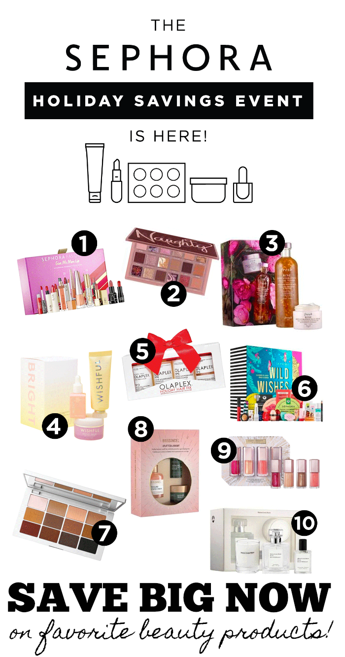 Save BIG in the sephora beauty insider event
