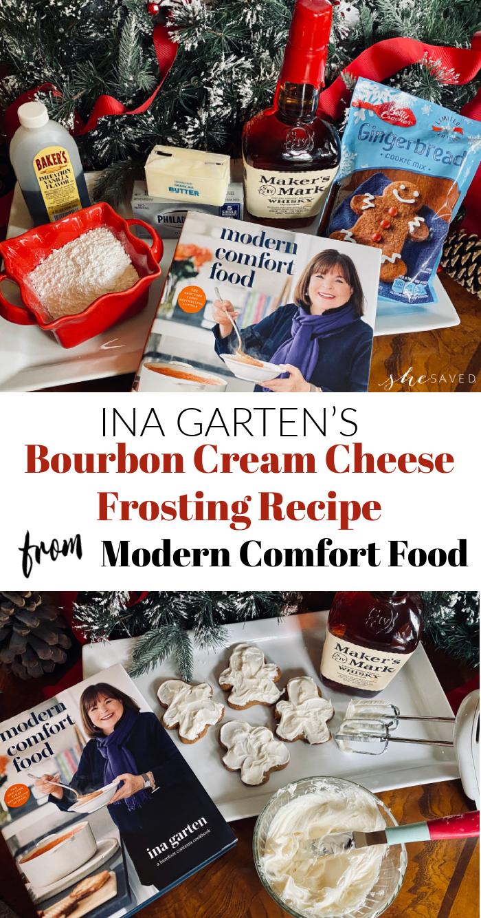 Bourbon Cream Cheese Frosting Recipe from Ina Gartner