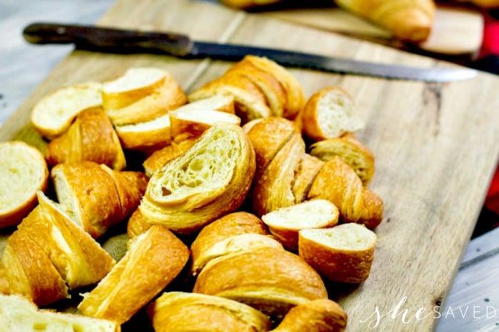 Croissant Bread for Eggnog bread