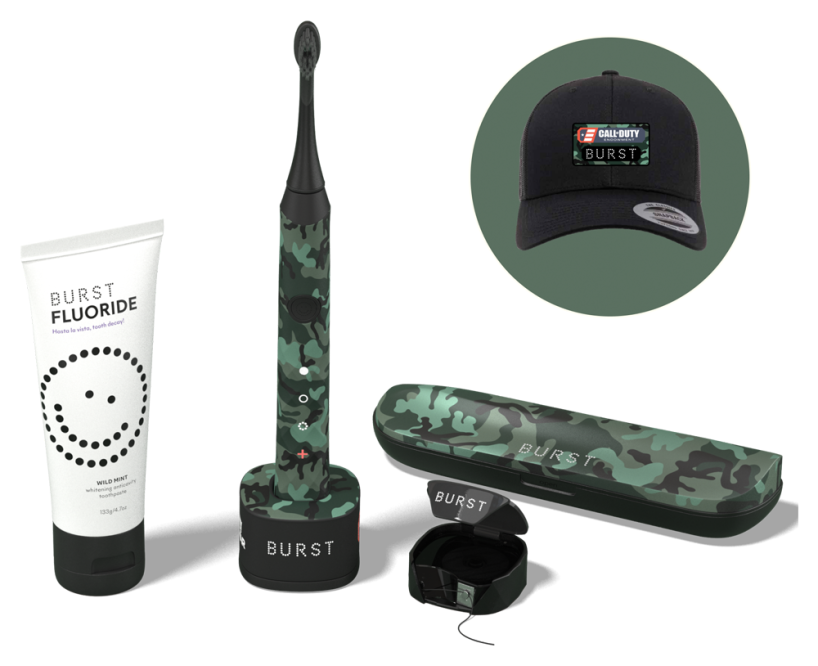 Burst Call of Duty Toothbrush Bundle