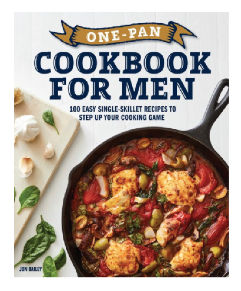 Cookbook for Men by Jon Bailey
