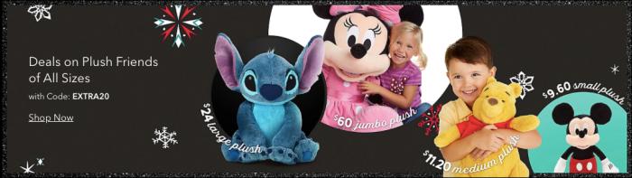 Disney Plush Sale