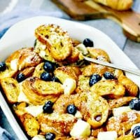 Eggnog French Toast Breakfast Bake Recipe