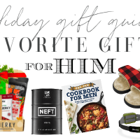 Holiday Gift Guide: Favorite Gifts for Him