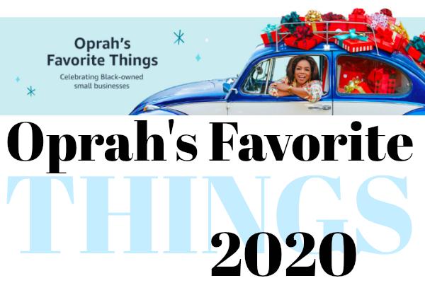 Oprah's Favorite Things 2020