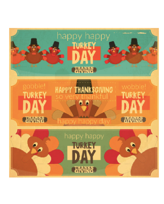 Thanksgiving Printable Thankful Labels