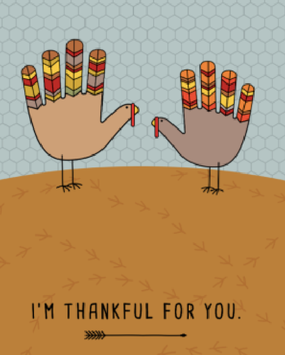 Thanksgiving Printable Thankful for you