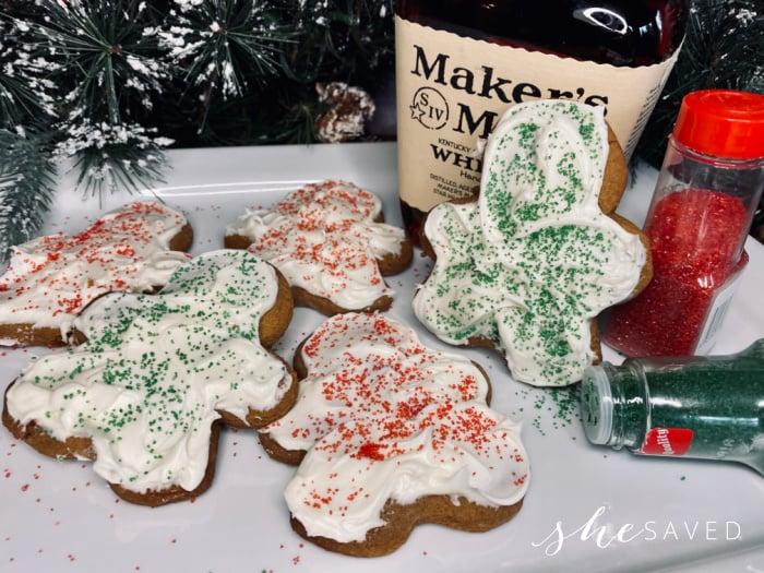 Whiskey Gingerbread Men