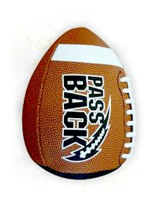 Pass Back Football Great Gift for High School Football Players