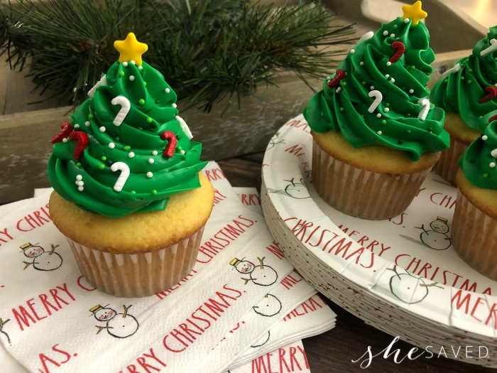 Best Christmas Tree Cupcakes